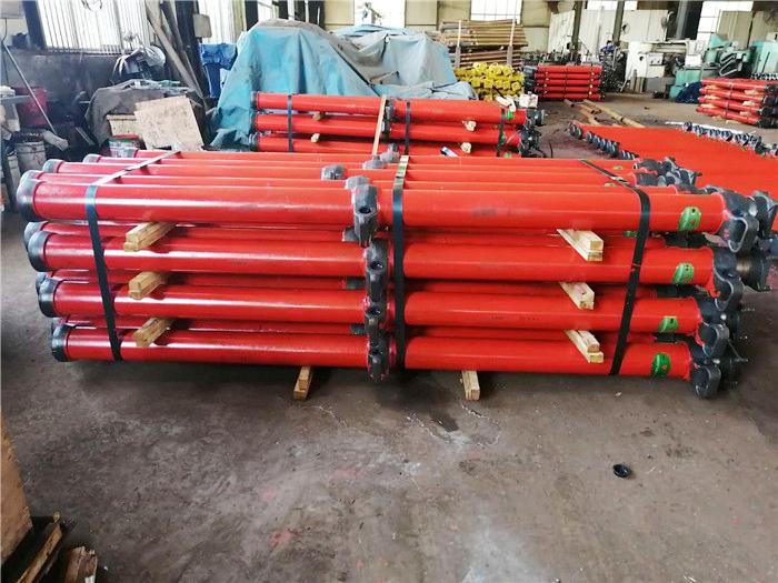 雙閥懸浮式單體液壓支柱